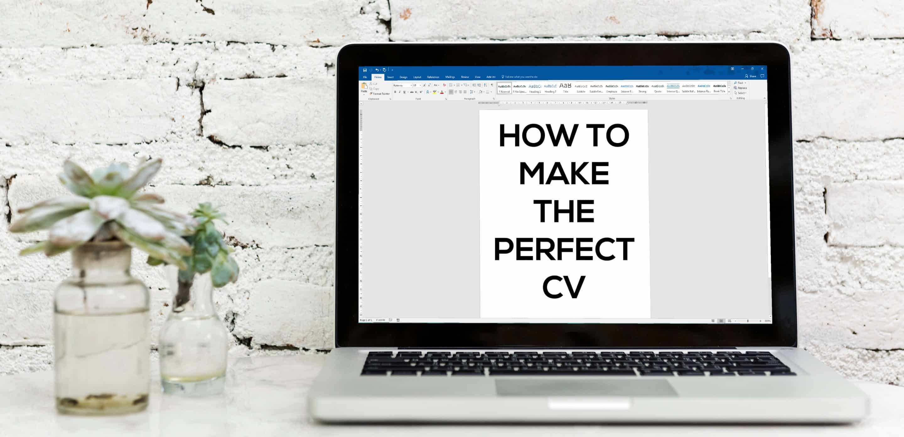 how to make the perfect cv utility people